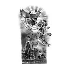 Tattoo Sleeve of Death