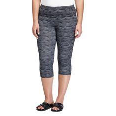 Balance Capri Leggings ($15) ❤ liked on Polyvore