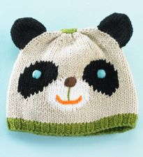 Best Newborn Baby Hats for Your Little Boy or Girl Panda Baby Hat awwwwwPanda Baby Hat awwwww Baby Hats Knitting, Knitting For Kids, Baby Knitting Patterns, Baby Patterns, Knitted Hats, Crochet Hats, Newborn Beanie, Knit Baby Dress, Quick Knits