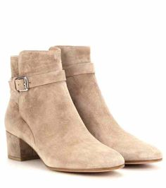Suede ankle boots   Gianvito Rossi