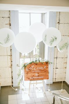 Белый зеленый папоротник арт прозрачный большой воздушный шар эко зелень свадьба Добро пожаловать зона |White green frern art clear big balloon eco greenery wedding welcome zone