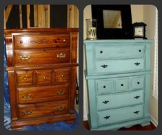 Love this idea ... Want to do this to my old dresser.