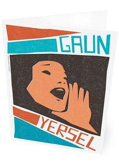 Gaun yersel – card - teal