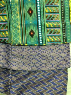Top to bottom: Item 42099 Girls Pencil Size 8 |  item 42100 Girls Pencil Size 6 |  item 42101 Girls Pencil Size 6 || ** #gray #green #tribal #girls #skirt #tribal #blue