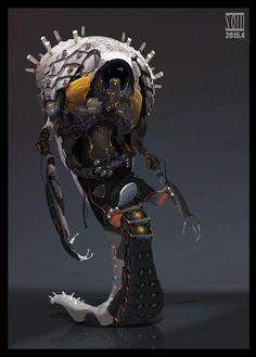 ArtStation - The bionic monster, mo xuan zhang