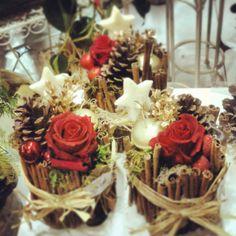 1000 images about centros de mesa on pinterest mesas for Decoraciones para navidad interiores