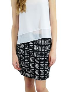 Relished Geo Shift Skirt