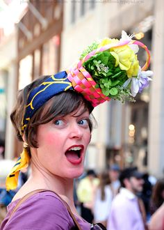 NYC Easter Bonnet Parade 2010.  Let's all meet in 2013 with our own creations.
