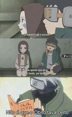 Kakashi Taradão do Naruto Gaara, Naruto Uzumaki Shippuden, Kakashi Hokage, Kakashi Sensei, Naruto Cute, Itachi Uchiha, Anime Meme, Otaku Anime, Anime Manga