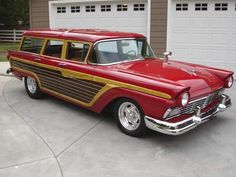 Ford Country Squire Wagon 1957.