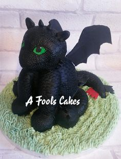 TOOTHLESS!!! #howtotrainyourdragon #afoolscakes