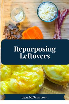 Repurposing leftovers is a great way to use food that might only make it from the fridge to the trash can. It can save on extra cooking too!