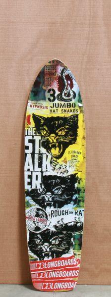 """DB 38"""" Stalker Longboard Deck $130.00"""