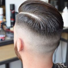 1000 images about s hair on daith Mens Haircuts Quiff, Mens Hairstyles With Beard, Slick Hairstyles, Hair And Beard Styles, Hairstyles Haircuts, Long Haircuts, Short Hair Cuts, Short Hair Styles, High Fade Haircut