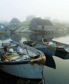 Peggy's Cove in Nova Scotia, Atlantic Provinces, Canada © Adam Gibbs O Canada, Canada Travel, Ontario, Voyager Loin, Atlantic Canada, Old Boats, Cottages By The Sea, Remo, Cape Breton