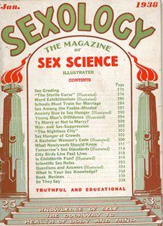 Sexology Magazine cover.