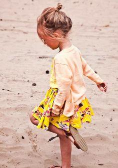 Beautiful yellow dress #summertime #kidsplaytime #kids #playtimesummerideas…