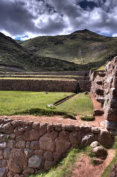 Inca archaeological runis, Tipon, Peru.  Photo: Don Holmgren, via Flickr