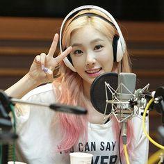 ❤ SNSD ❤ Kim TaeYeon ♡ 김태연 ♡ : @ Sunny's FM Date