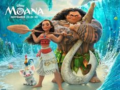 The highly anticipated Moana premieres nationwidetoday. My daughter and I got a sneak preview and all I can say is WOW! From the music to the animation to the specialmagic only in Disney can create, this movie is definitely a treat for all. MOVIE: Moana RATING: PG RUNNING LENGTH: 113 minutes MAIN CAST: Auli'i Cravalho, …