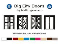"""Moin Ihr Lieben, heute habe ich neue Türen in 4 verschiedenen Designs und 10 Farben für Euch. Um diese Türen verwenden zu können, benötigt Ihr das EP """"Großstadtleben"""". Viel Spaß! Sollten weitere Fa…"""