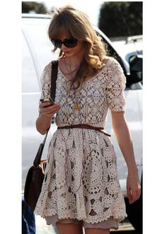 Taylor Swift vintage cute handcrafted crochet mini by DearAlina, $249.00