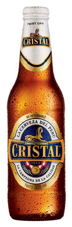 Cristal - Peruvian Beer