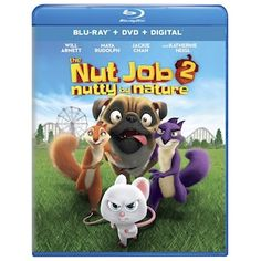 Movie:The Nut Job 2 Nutty by Nature Director: Cal Brunker Genres: Animation Bobby Cannavale, Maya Rudolph, The Nut Job, Movie Plot, Film Story, Movie Info, Will Arnett, Jackie Chan, Amusement Park