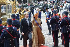 Sortie en carrosse pour Willem-Alexandre et Maxima