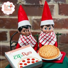Attention pizza lovers! Today is your (cheesy) day! Happy Cheese Pizza Day! | Elf on the Shelf Ideas