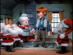 Kris Kringle (Mickey Rooney) - Santa Claus is Comin' to Town