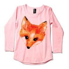 little fox tee Minti Painted Fox Tee Munster Kids, Rock You Baby, Little Fox, Baby Winter, Little People, Cool Kids, Blush Pink, Baby Kids, Kids Outfits