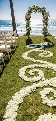 596 best Wedding Aisles with Rose Petals images on Pinterest in 2018 ...