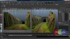 Autodesk Maya Camera Projection