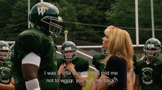 The Blind Side :)