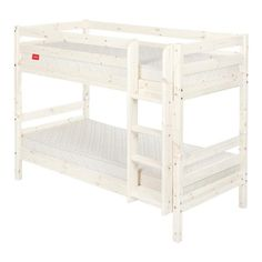 flexa flexa white single bed frame with pull out bed frame wayfair uk triple bunk beds. Black Bedroom Furniture Sets. Home Design Ideas