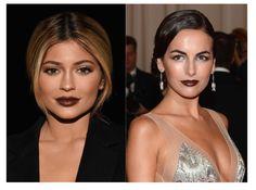 Il rossetto marrone può essere banale. Allora che soluzione puoi adottare? Semplice: sceglilo super gloss.