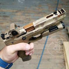 "@weapons_armament_research M&P  2.0 Afterburner 5"". @inforce01 APL3.0.  #ANRDesign  Alexandryandesign.com"