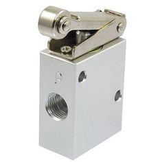 JM-07 1/4 PT Thread 2 Position 3 Way Roller Type Mechanical Pneumatic Valve  EUR 10.86  Meer informatie  http://ift.tt/2doiyGg #aliexpress