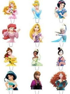 Buy 12 X Disney Princess Top Half Premium Quality Stand Up Standups Fairy Muffin Cup Cake Toppers Decoration Edible Rice Wafer Paper In Cheap Price On M.Com - Diy Crafts Disney Princess Cupcakes, Princess Cupcake Toppers, Cupcake Toppers Free, Disney Princess Birthday Party, Girl Birthday, Birthday Parties, Cake Birthday, Princess Birthday Cupcakes, Princess Tiana
