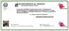 Reconocimientos 2014: Diana Carbajal Kerkhof  Distinción: Fabricio Ojeda