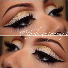 Gold Cut Crease - Trends & Style