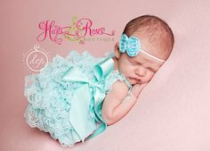 Hey, I found this really awesome Etsy listing at https://www.etsy.com/listing/151882657/aqua-easter-outfit-petti-lace-romperaqua