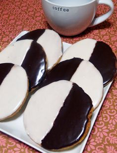 Cook's Country Black and White Cookies