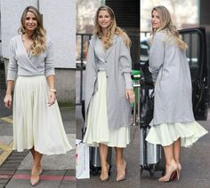 Celebrity Style: 5 Cool Ways to Wear a Long Grey Coat