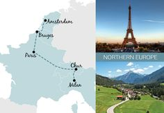A one-week rail trip itinerary in Northen Europe Europe Train Travel, Asia Travel, Travel Usa, European Vacation, European Travel, Italy Rail, Places To Travel, Travel Destinations, Backpacking Europe