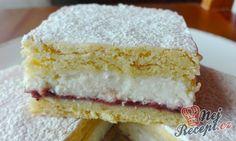 Linecký tvarohový koláč s pikantní marmeládou | NejRecept.cz Sweet Desserts, Dessert Recipes, Oreo Cupcakes, Aesthetic Food, Vanilla Cake, Nutella, Cheesecake, Deserts, Good Food