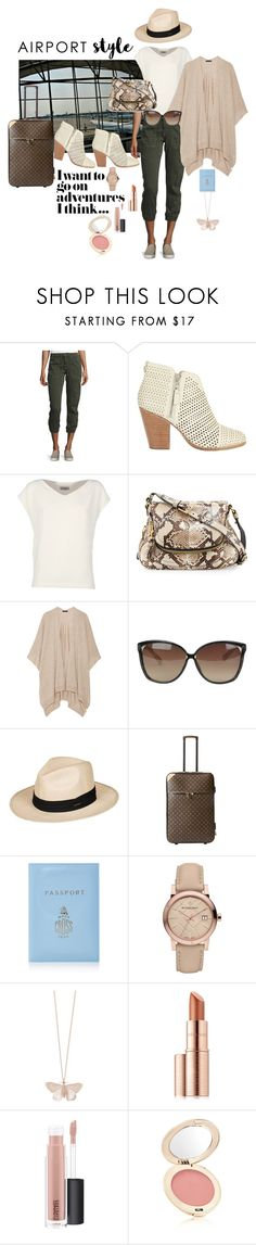 """Cleared for Take-off"" by lulu13nyc ❤ liked on Polyvore featuring Joie, rag & bone, Alberto Biani, Tom Ford, The Row, Linda Farrow, Roxy, Louis Vuitton, Mark Cross and Burberry"