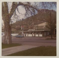 Moore's Drive In,  at 800 N. Wilcox Street Castle Rock, CO 1959-1973 :: Douglas County History  Photograph Collection