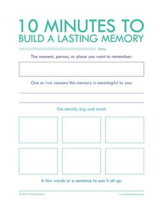 "Minutes To Build A Lasting Memory"" - Printable Journal Pages to help you put your thoughts into words. Journal writing is an important step in not only understanding yourself but also improving your relationships. Journal Prompts, Journal Pages, Writing Prompts, Art Journals, Writing Journals, Memory Journal, Daily Journal, Nature Journal, Coping Skills"